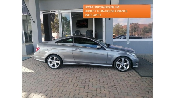 2015 Mercedes-Benz C-Class C250 Cdi Be Coupe At  Gauteng Four Ways_0