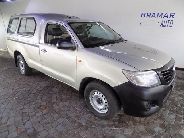 2014 Toyota Hilux 2.0 Vvti Pu Sc  Gauteng Boksburg_0