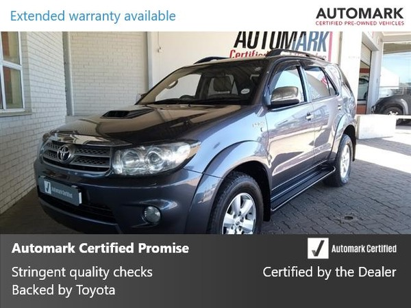2011 Toyota Fortuner 3.0d-4d Rb At  Eastern Cape King Williams Town_0