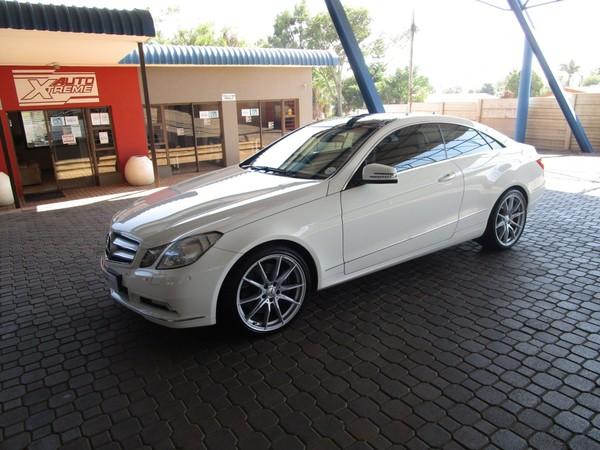 2011 Mercedes-Benz E-Class E 500 Coupe  Gauteng Pretoria_0