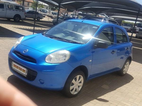 2013 Nissan Micra 1.2 Visia Insync 5dr d86v  Gauteng Pretoria_0