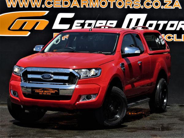 2017 Ford Ranger 3.2TDCi XLT 4X4 AT PU SUPCAB Gauteng Johannesburg_0