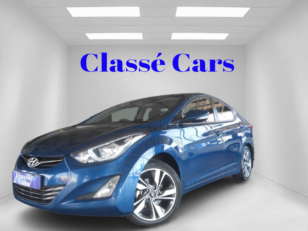 2014 Hyundai Elantra 1.6 Premium Auto Gauteng Boksburg_0