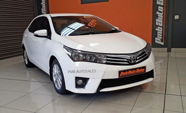 2015 Toyota Corolla 1.8 High CVT Kwazulu Natal Pietermaritzburg_0
