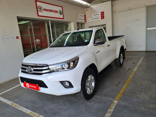 2018 Toyota Hilux 2.8 GD-6 Raider 4x4 Single Cab Bakkie Auto Western Cape Swellendam_0