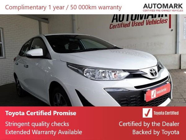 2020 Toyota Yaris 1.5 Xs CVT 5-Door Eastern Cape King Williams Town_0