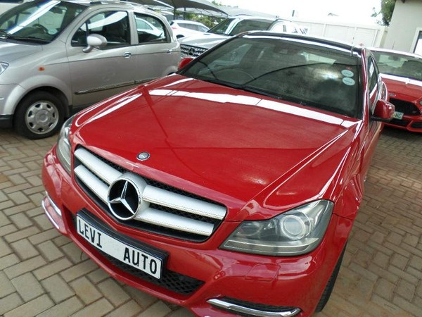 2013 Mercedes-Benz C-Class C250 Cdi Be Coupe At  Gauteng Pretoria_0
