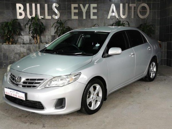 2012 Toyota Corolla 1.6 Advanced At  Gauteng Silverton_0
