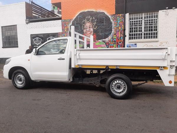 2013 Toyota Hilux 2.5 D4D SRX Single Cab Manual Diesel Gauteng Johannesburg_0