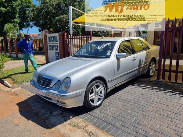 2001 Mercedes-Benz E-Class E200 K Elegance At  Gauteng Roodepoort_0