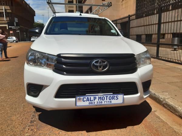 2017 Toyota Hilux 2.4 GD Single-Cab Gauteng Marshalltown_0