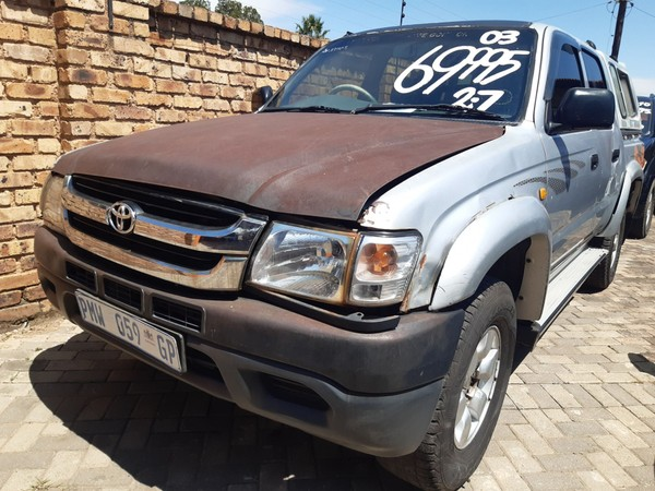 2003 Toyota Hilux 2700i Raider Rb Pu Dc  Gauteng Boksburg_0