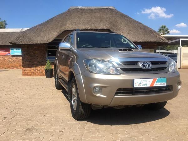 2008 Toyota Fortuner 3.0d-4d 4x4  Gauteng Centurion_0