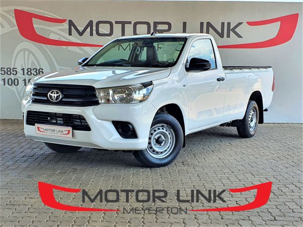 2016 Toyota Hilux 2.4 GD AC Single Cab Bakkie Gauteng Meyerton_0