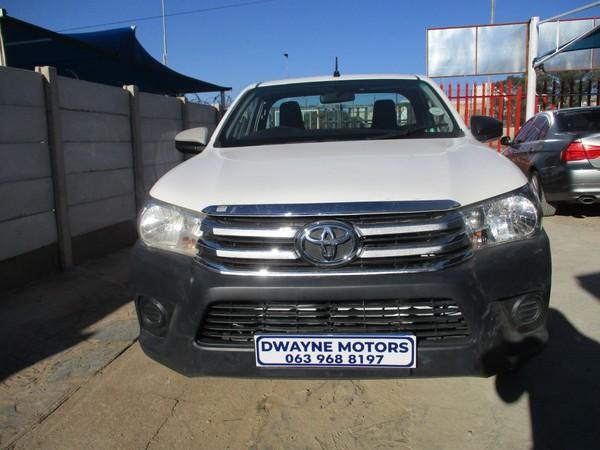 2018 Toyota Hilux 2.4 GD AC PU SC  Gauteng Johannesburg_0