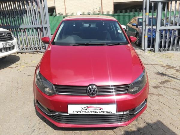 2015 Volkswagen Polo 1.2 TSI Trendline 66KW Gauteng Johannesburg_0