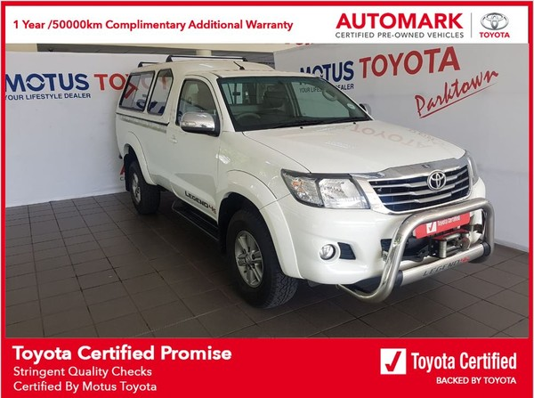 2015 Toyota Hilux 2.7 VVTi LEGEND 45 RB Single Cab Bakkie Gauteng Johannesburg_0