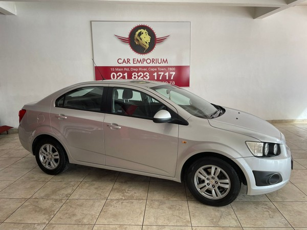 2012 Chevrolet Sonic 1.6 Ls At  Western Cape Diep River_0