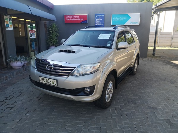 2012 Toyota Fortuner 2.5d-4d Rb  Limpopo Polokwane_0