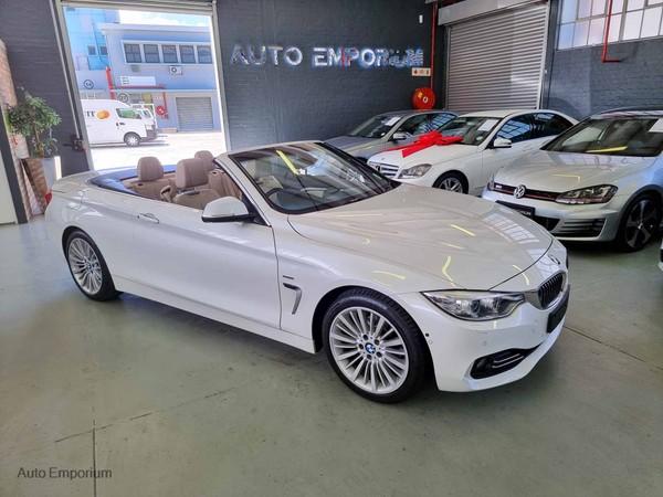 2015 BMW 4 Series 420i Convertible Luxury Line Auto Western Cape Maitland_0