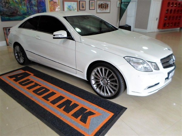 2010 Mercedes-Benz E-Class E 350 Coupe Western Cape Knysna_0