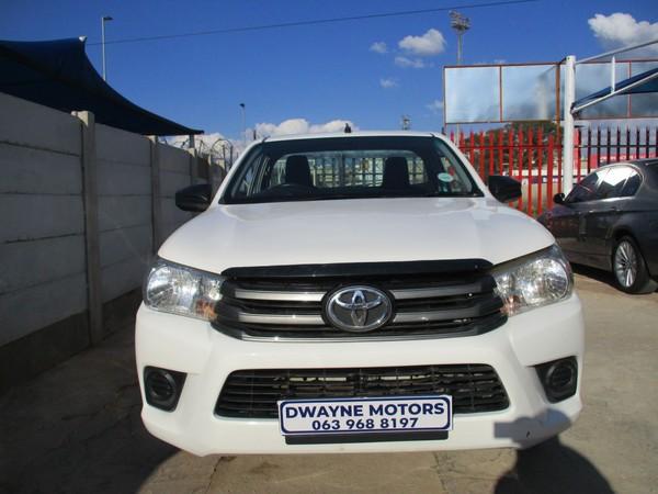 2016 Toyota Hilux 2.4 GD AC SINGLE CAB Gauteng Johannesburg_0