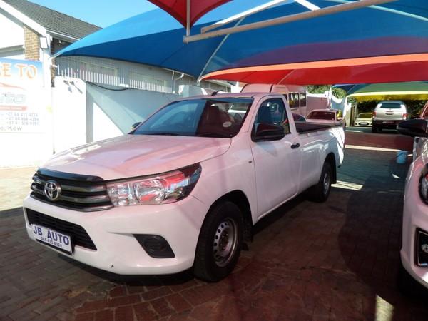 2016 Toyota Hilux 2.4 GD-6 RB SRX Single Cab Bakkie Gauteng Bramley_0