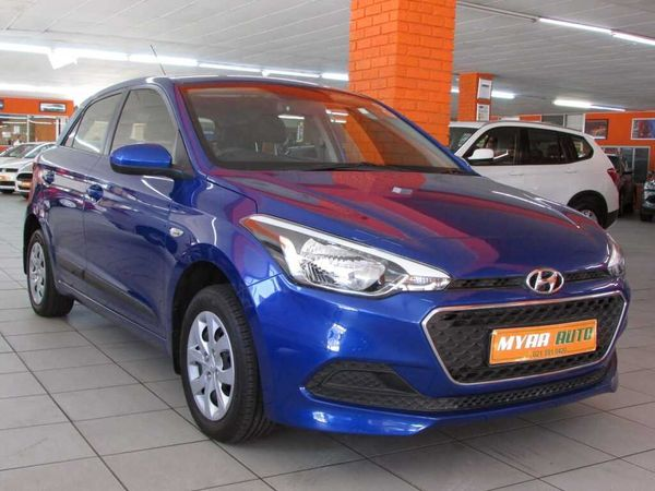 2017 Hyundai i20 1.2 Motion Western Cape Cape Town_0