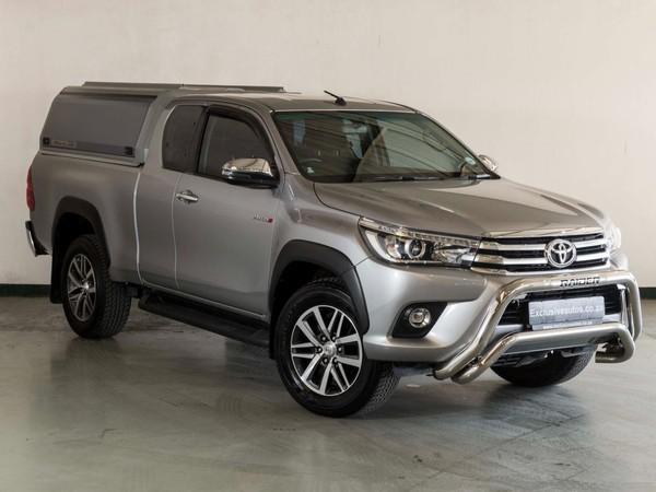 2018 Toyota Hilux 2.8 GD-6 RB Raider Extra Cab Bakkie Auto Gauteng Pretoria_0