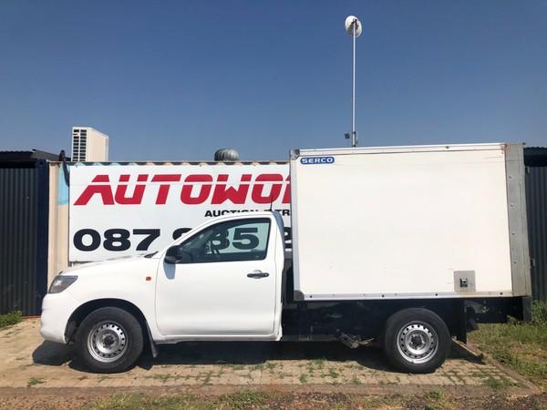 2014 Toyota Hilux 2.5 D-4d Pu Sc  Gauteng Pretoria_0