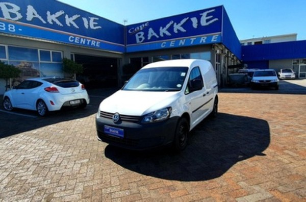 2013 Volkswagen Caddy 1.6i 75kw Fc Pv  Western Cape Parow_0