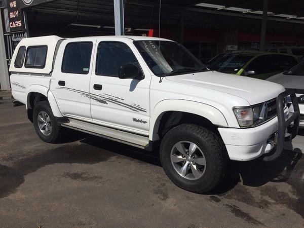 2000 Toyota Hilux 2700i Raider Rb Pu Dc  Gauteng Boksburg_0
