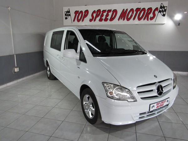 2014 Mercedes-Benz Vito 116 Cdi Crewbus  Gauteng Vereeniging_0