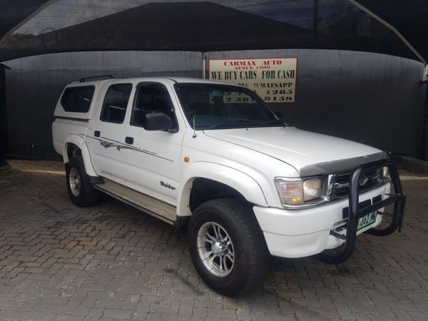 2001 Toyota Hilux 3000kz-te Raider Rb Pu Dc  Gauteng Johannesburg_0