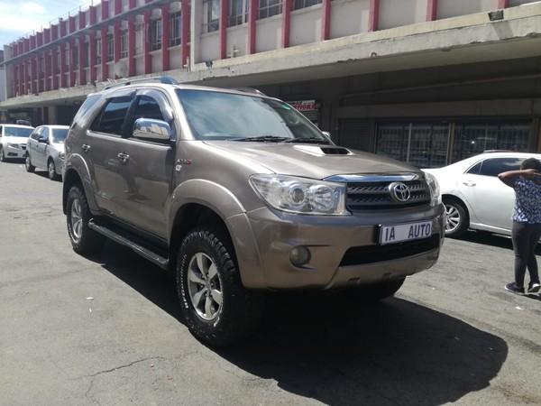 2009 Toyota Fortuner 3.0d-4d Rb At  Gauteng Johannesburg_0
