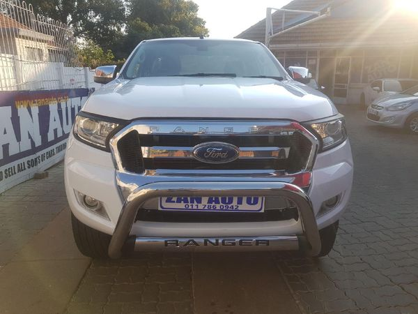 2016 Ford Ranger 3.2TDCi XLT 4X4 AT PU SUPCAB Gauteng Bramley_0
