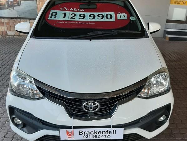 2017 Toyota Etios Cross 1.5 Xs 5Dr Western Cape Brackenfell_0
