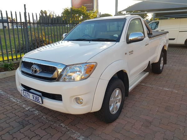 2009 Toyota Hilux 2.7 VVTi Raider Raised Body Single-Cab Gauteng Germiston_0