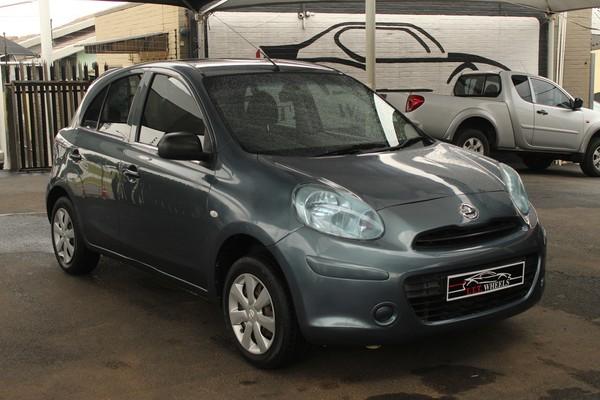 2013 Nissan Micra 1.2 Visia 5dr d82  Gauteng Johannesburg_0