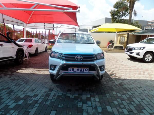 2016 Toyota Hilux 2.4 GD-6 SR 4X4 Single Cab Bakkie Gauteng Bramley_0