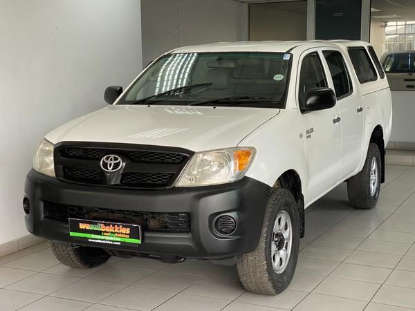 2008 Toyota Hilux 2.5d-4d Srx 4x4 Pu Dc  Gauteng Pretoria West_0