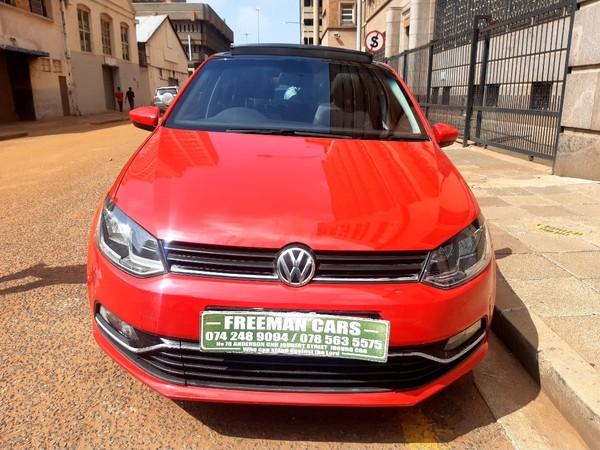 2017 Volkswagen Polo GP 1.4 Comfortline Gauteng Johannesburg_0