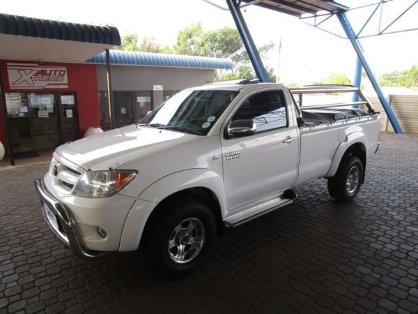 2005 Toyota Hilux 2.7vvt-i Raider Rb Pu Sc  Gauteng Pretoria_0