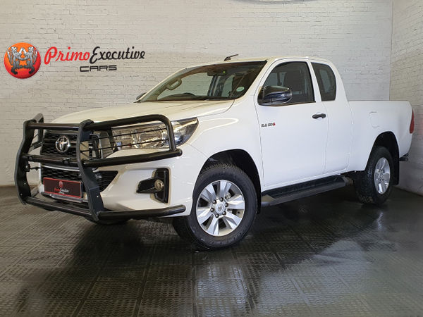 2019 Toyota Hilux 2.4 GD-6 RB SRX PU ECAB Gauteng Edenvale_0