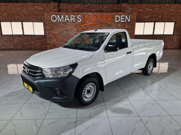 2021 Toyota Hilux 2.0 VVT Single Cab Bakkie Mpumalanga Witbank_0