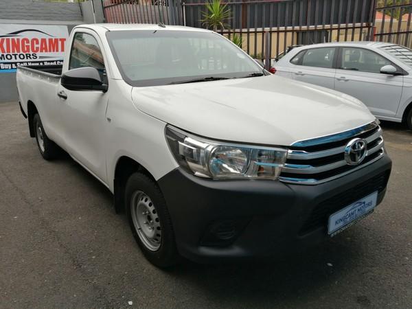 2018 Toyota Hilux 2.4 GD-6 RB SRX Single Cab Bakkie Gauteng Johannesburg_0
