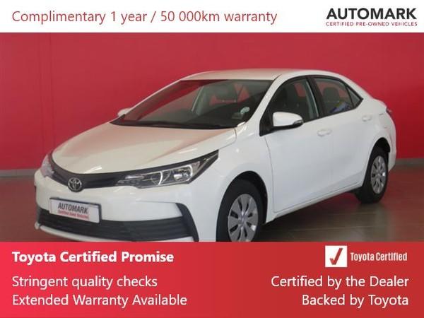 2020 Toyota Corolla Quest 1.8 CVT Limpopo Polokwane_0