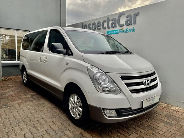 2016 Hyundai H-1 Gls 2.4 Cvvt Wagon  Gauteng Pretoria_0