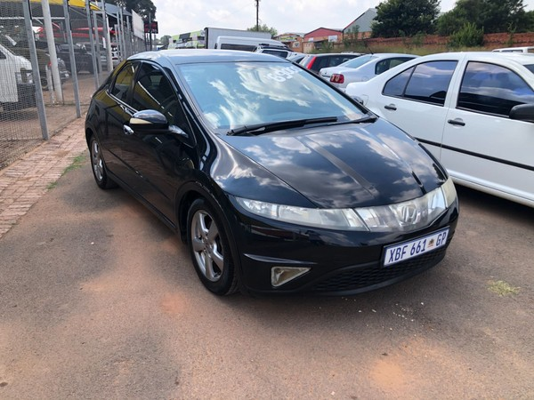 2006 Honda Civic 1.8i-vtec Exi 5dr  Gauteng De Deur_0