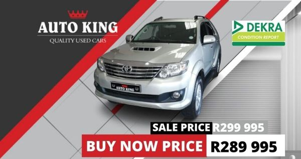 2014 Toyota Fortuner 2.5d-4d Rb At  Western Cape Cape Town_0
